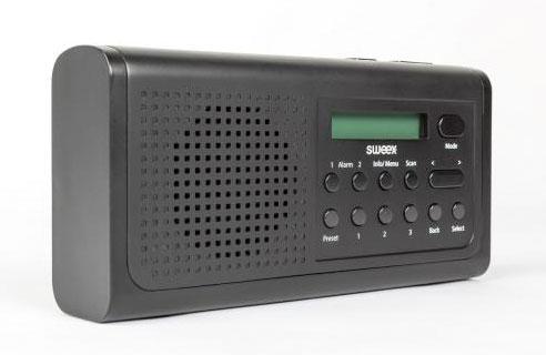 Sweex DAB+/FM Radio SWDABR100BK